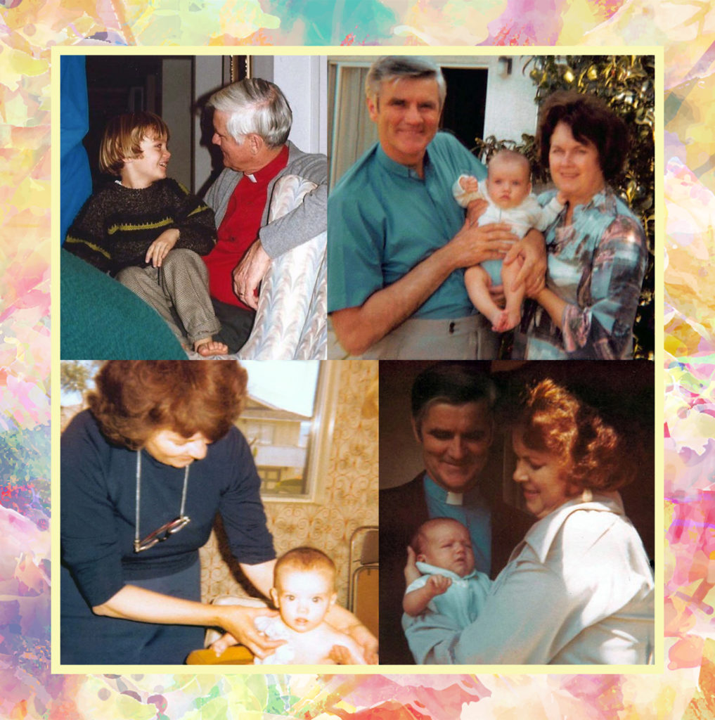 Special moments with their grandchildren