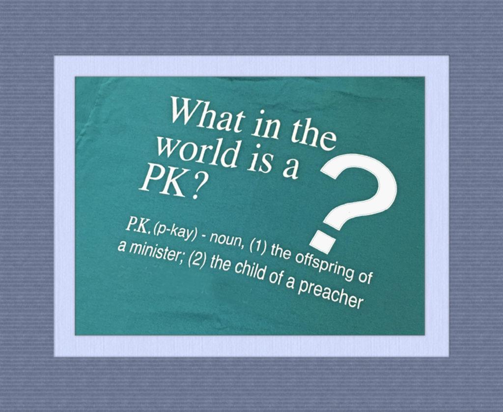 A PK?