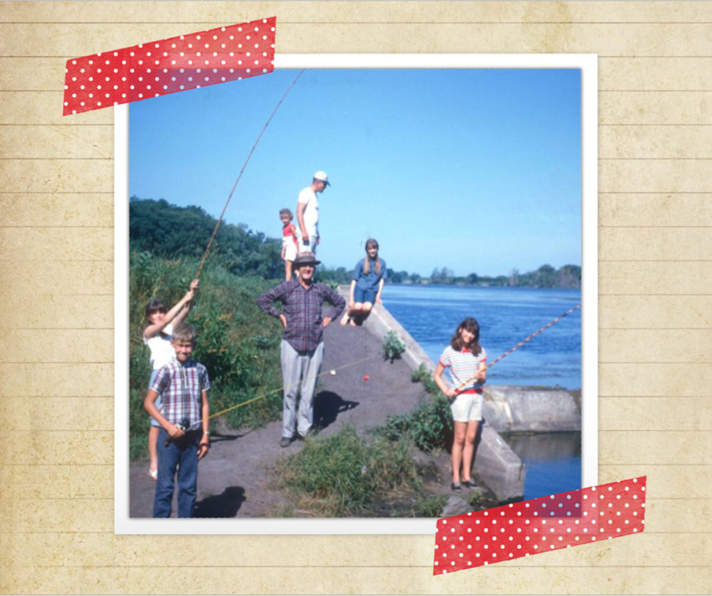 Fishing with the family