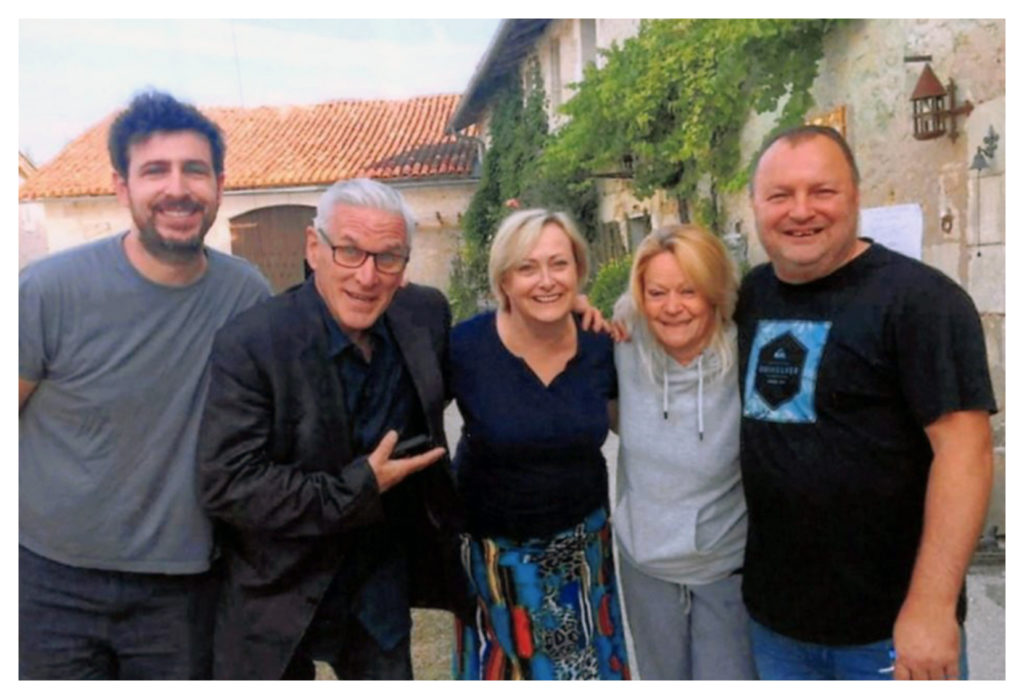 Super Chef Matt Fisher, Martin Olson, Pamela Jaye Smith and I forget two names!!