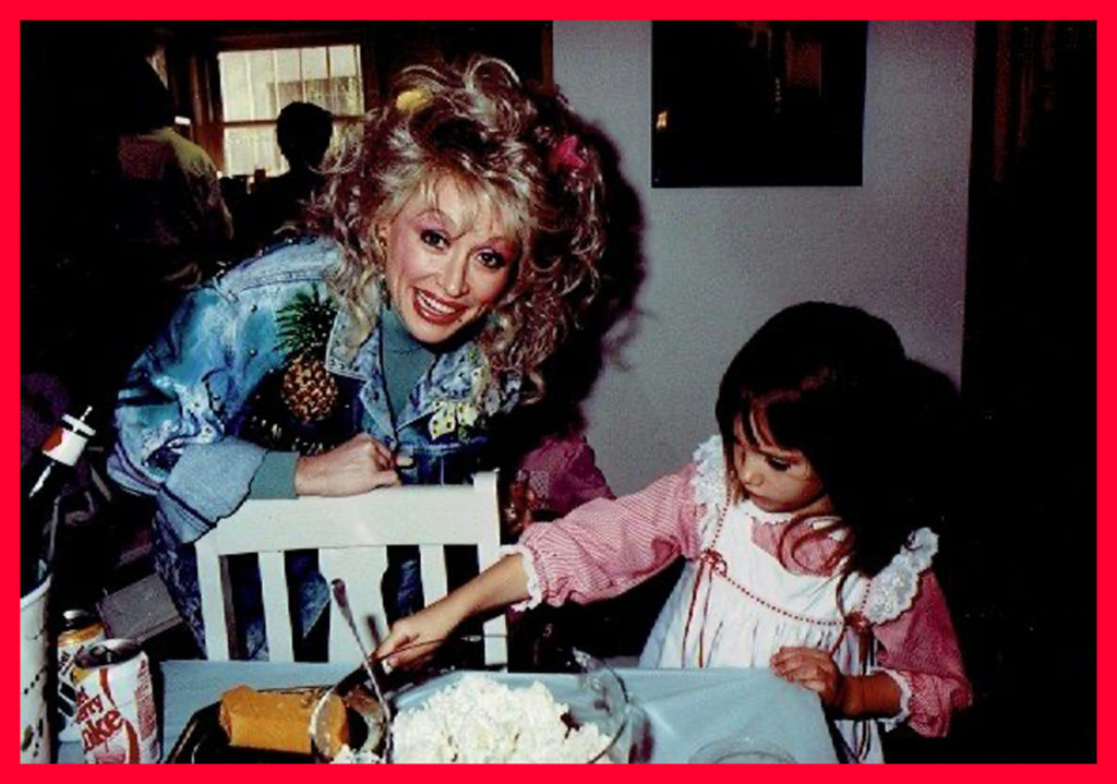 Dolly and Sam at another party
